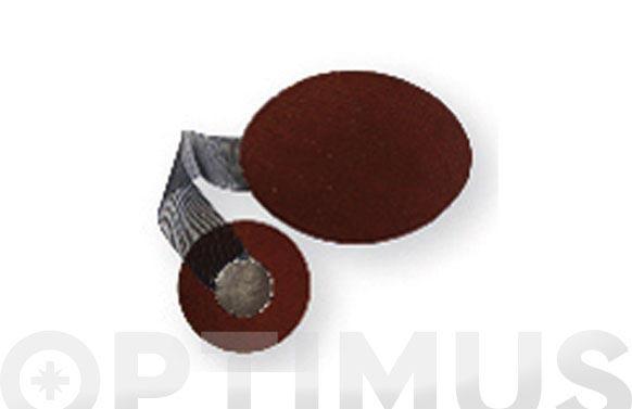 Recogecortina oval modern cerezo ad645