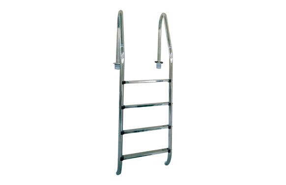 Escalera standard acero inox  3 peldaños