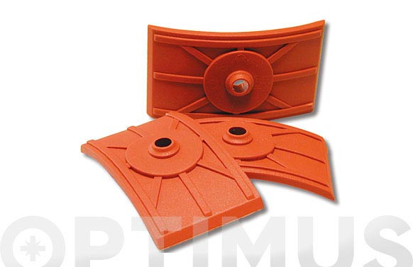 Fijacion para placa teja coppo 70 x 40 mm