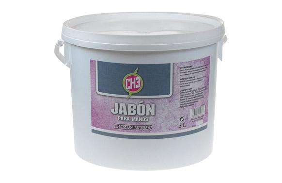 Jabon para manos pasta granulada 5 l