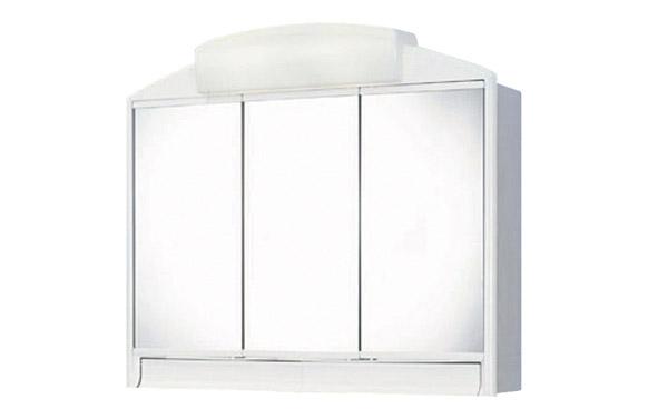 Armario baño 3p + luz 2x40w + ench + cajon 59 x 51 x 16 cm rando