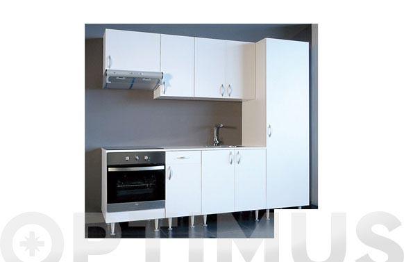 Modulo alto 1 puerta blanca 70 x 40 x 35 cm