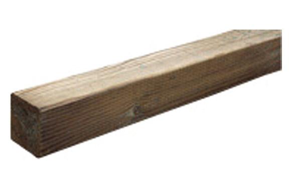 Poste madera cuadrado 9 x 9 x 180 cm