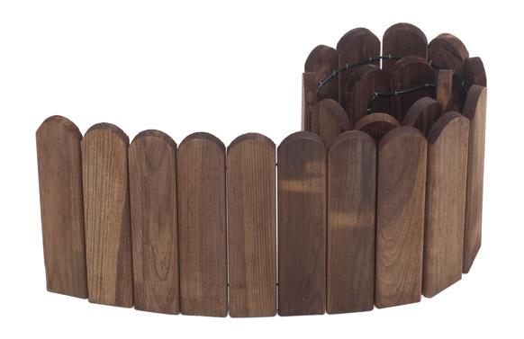 Bordura madera liloux 20 x 120 cm