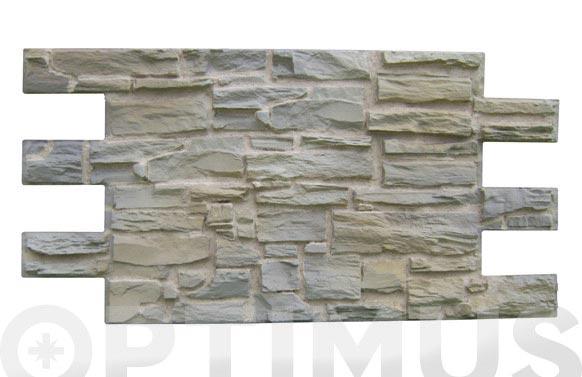 Panel piedra pyrenean 1,2x0.60 mt tierra