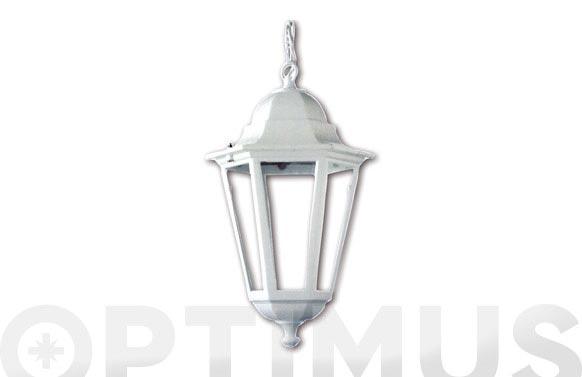 Lámpara colgante paris blanco con bombilla