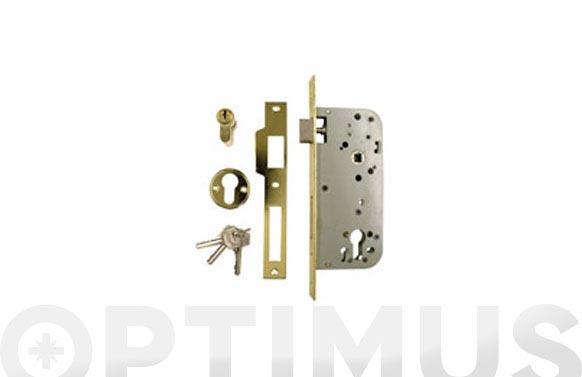 Cerradura golpe-llave (130) 50x70 cil-60