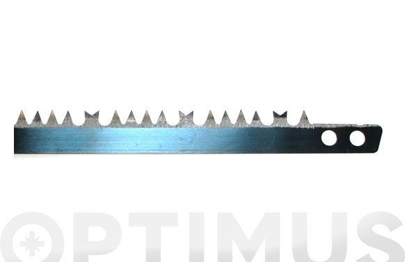 Hoja sierra tronzar 30 76,2 cm. diente americano para madera verde