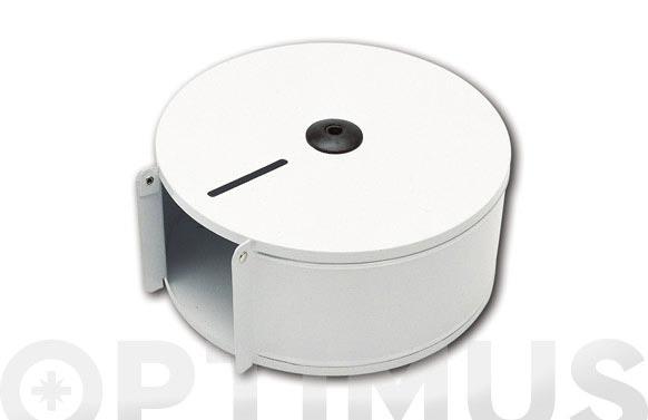 Portarrollo wc industrial eje 45 mm inox