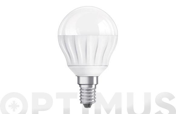 Bombilla led esférica clas p 25 4w e14 parathom luz cálida