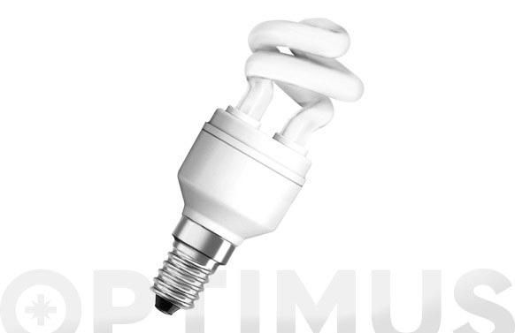 Bombilla bajo consumo duluxstar mini twist 5w/825 e14