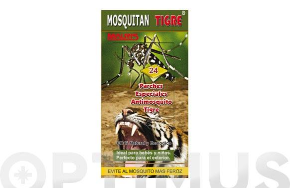 Mosquitan mosquito tigre(24 parches)