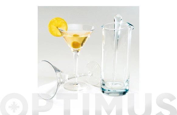 Set martini 4 piezas michelangelo