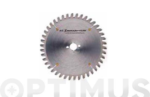 Sierra circular ne-neg 250 x 32 x 80 aluminio