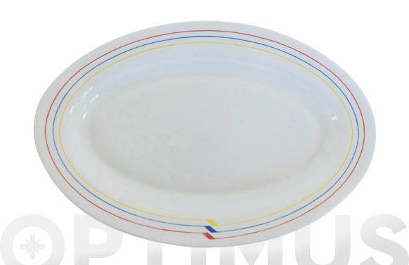 Fuente oval rondo 36 cm