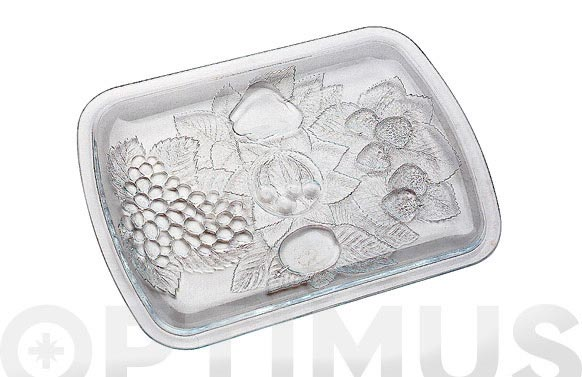 Fuente rectangular piknik 32 x 23 cm