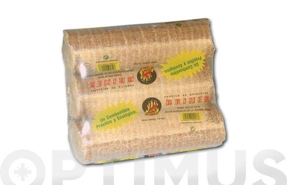 Briqueta 3 uds (7kg.aprox) roble/pino