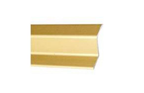 Cubrejunta ceramica parket aluminio oro adhesivo 83 cm