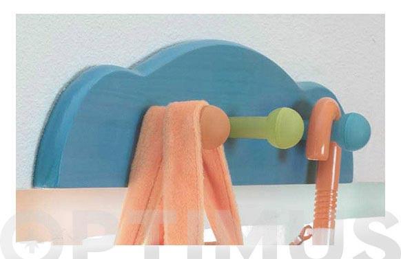 Colgador kide azul 11 x 50 cm