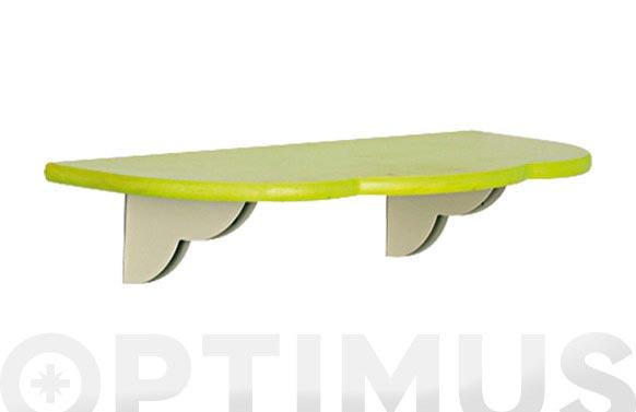 Estante kide verde 80 cm