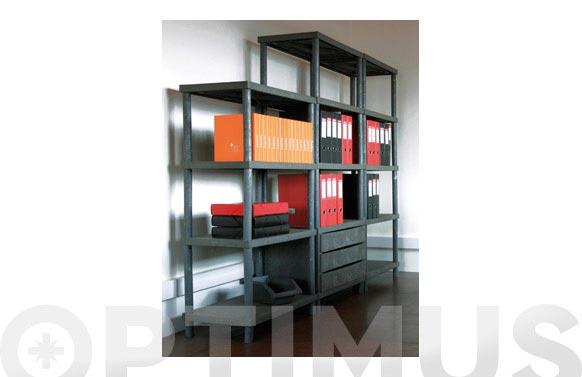 Base columnata 2 estantes 48x71x41