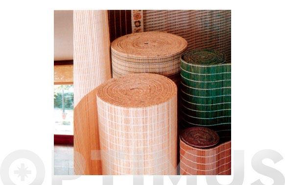 Persiana enrollable madera natural 1,30 x 1,65 m