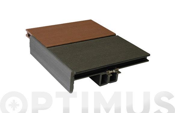 Tarima decking marron 220x15 (paq.3)
