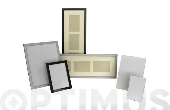 Marco portafoto aluminio plata mate 10 x 15 cm