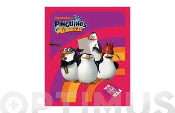 Plaid pinguinos de madagascar rainbow