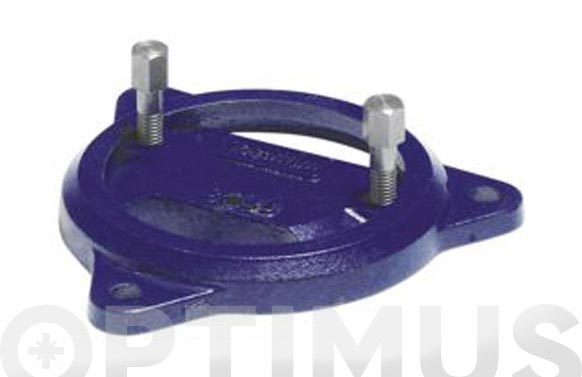 Base giratoria p/tornillo de banco 32120001 (ref. uso)