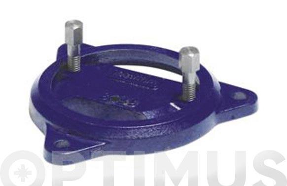 Base giratoria p/tornillo de banco 32120004 (ref. uso)