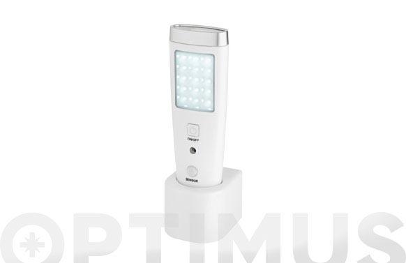 Linterna lampara led sensor recargable