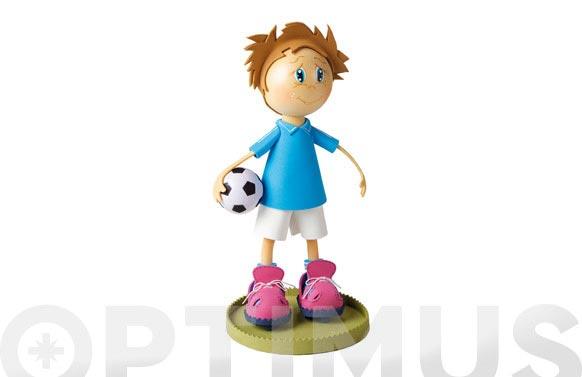 Muñeca fofucha en kit futbolista
