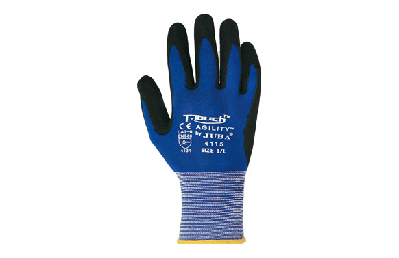 Guante nitrilo/pu t-touch agility t 10
