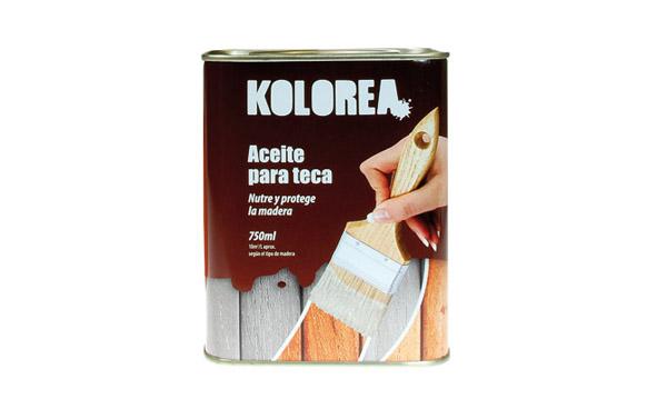 Aceite teca kolorea incoloro 750 ml