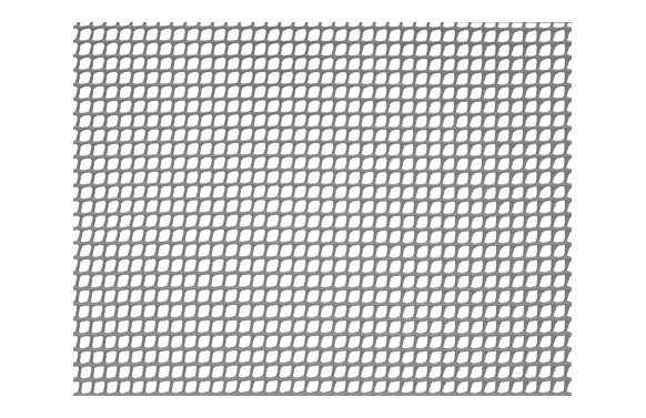Malla cuadranet (malla 5x5mm) 300gr/m2 1 x 5 m gris