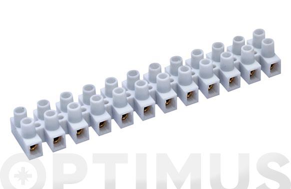 Regleta conexion elec homolog. 2,5 mm 24a blanco