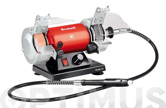 Esmeriladora mini 75 mm th-xg75 120 w+eje flexible