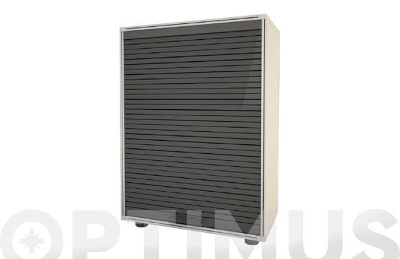 Armario modulo persiana gris 91 x 62,5 x 35 cm