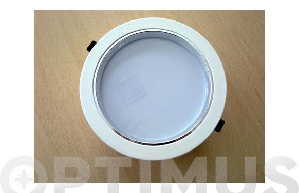 Downlight redondo led 26w blanco-200 mm