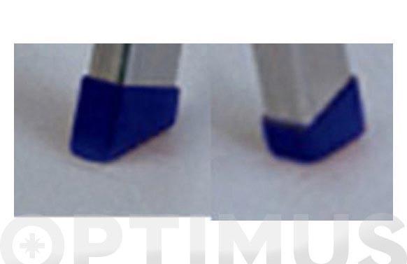 Taco plastico escalera aluminio domestica kylate peldaño ancho 3 a 6 juego 4 unid