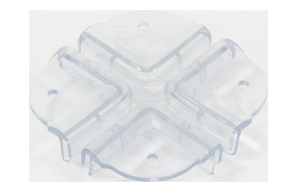 Protector esquinas 4 uds transparente