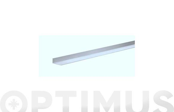 Perfil angulo aluminio natural 1 m 25 x 25 x 1 mm