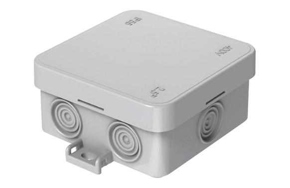 Caja mini estanca ip55 75 x 75 mm