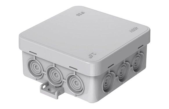 Caja mini estanca ip55 85 x 85 mm