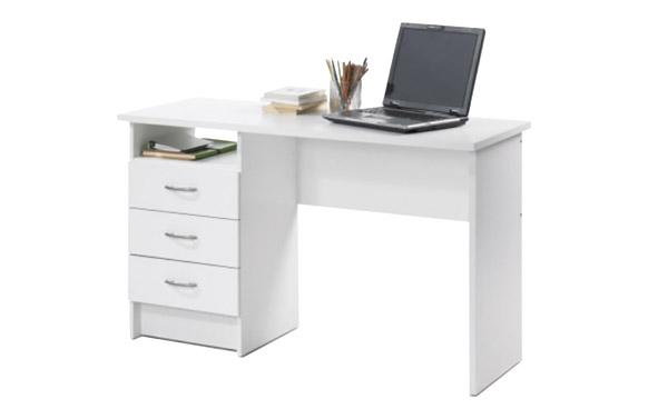 Mesa estudio function blanco 120 x 48 cm
