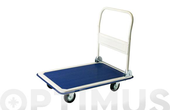 Carro plataforma acero plegable 300 kg