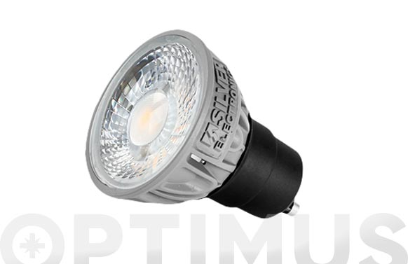 Led pro dicroica gu10 5w 450 lm luz calida