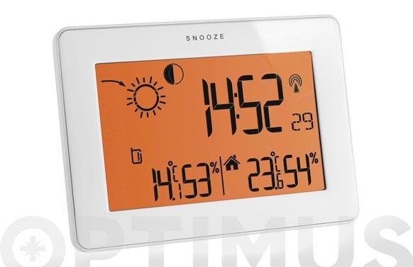 Estacion meteorologica digital blanca