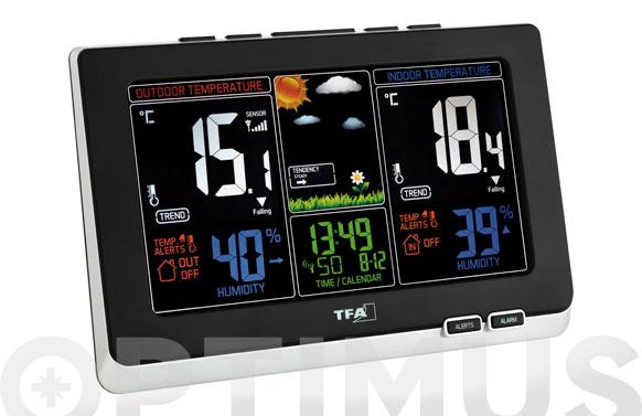 Estacion meteorologica digital 35.1129.01 p-color